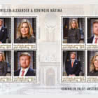 St. Eustatius - King Willem-Alexander & Queen Maxima
