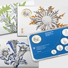 FLORA ALPINA coin set series, proof