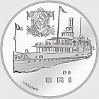 Steamboat Uri, Ag uncirculated