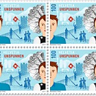 Unspunnen- (Block of 4 Mint)