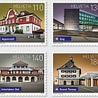 Swiss Railway Stations - (Set Mint)