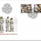 500 Years Bern Cathedral Vaulted Ceiling - (FDC Set)