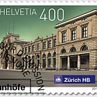 Swiss Railway Stations 2017 - (Stamp CTO)