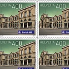 Swiss Railway Stations 2017 - (Sheet Mint)