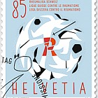 60 Years Swiss League Against Rheumatism - (Stamp CTO)