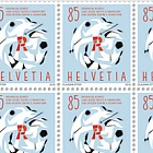60 Years Swiss League Against Rheumatism - (Full Sheet Mint)
