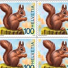 Animals of the Forest - (Red Squirrel Sheetlet Mint)