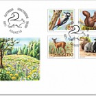 Animals of the Forest - (FDC Set)