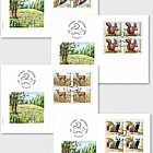 Animals of the Forest - (FDC Block of 4)