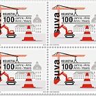 100 Years Suva - (Block of 4 Mint)