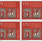 175 Years of Swiss Stamps - (Block of 4 Mint)