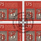 175 Years of Swiss Stamps - (Full Sheet CTO)