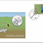 Hornussen - (Philatelic Numismatic Cover)