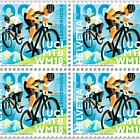 UCI MTB World Championships 2018 - (Block of 4 Mint)