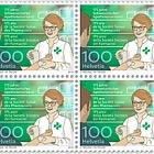 175 Years Swiss Pharmacists' Association - (Block of 4 Mint)