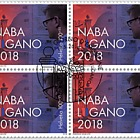 NABA Lugano 2018 - (Block of 4 CTO)