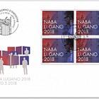 NABA Lugano 2018 - (FDC Block of 4)