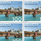 Europa 2018 - Bridges - (Sheet Mint) - Spreuer Bridge, Lucerne