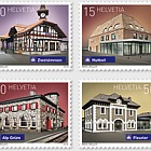 2018 Swiss Railway Stations - (Set Mint)