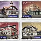 2018 Swiss Railway Stations - (Set CTO)