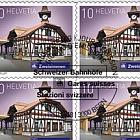 2018 Swiss Railway Stations - (Sheetlet CTO - Zweisimmen)