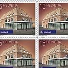 2018 Swiss Railway Stations - (Sheetlet Mint - Huttwil)
