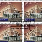 2018 Swiss Railway Stations - (Sheetlet CTO - Huttwil)