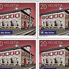 2018 Swiss Railway Stations - (Sheetlet Mint - Alp Grüm)