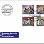 2018 Swiss Railway Stations - (FDC Set)