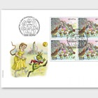 Fairy Tales - (FDC Block of 4)