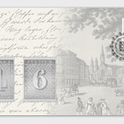 Anniversary Envelope with Silver Commemorative Stamp Tokens