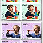 Pro Juventute - Happy Childhood - (Block of 4 Mint)