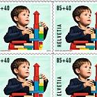 Pro Juventute - Happy Childhood - (Toy Bricks Sheetlet Mint)