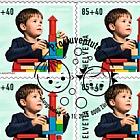 Pro Juventute - Happy Childhood - (Toy Bricks Sheetlet CTO