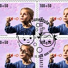 Pro Juventute - Happy Childhood - (Blowing Bubbles Sheetlet CTO)