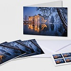 Christmas 2018 - (Christmas Cards with Covers & Stamps - Castle)