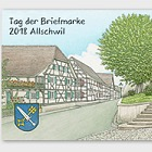 Stamp Day 2018 Allschwil - (M/S CTO)