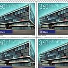Swiss Railway Stations - (Sheetlet Mint)