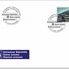 Swiss Railway Stations - (FDC Set)