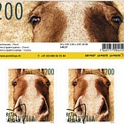 Animal Friends - Horse Sheetlet 10 Stamps CTO