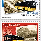 100 Years Postbus Routes
