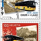 100 Years Postbus Routes - Set CTO