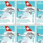 1919–2019 Swiss Air Transport - Sheet of 16 Stamps Mint