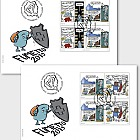 Fumetto Comic Festival - FDC Block of 4