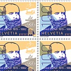 200th Anniversary of Alfred Escher's Birth - Sheet 20 Stamps Mint