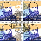 200th Anniversary of Alfred Escher's Birth - Sheet 20 Stamps CTO