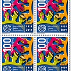 100 Years International Labour Organization (ILO), Geneva - Block of 4 Mint