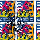 100 Years International Labour Organization (ILO), Geneva - Sheet of 20 Stamps CTO
