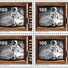 50 Years Manned Moon Landing - Block of 4 Mint