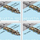 150 Years Lake Line + Train Ferry - Train Ferry - Sheet of 20 Stamps Mint